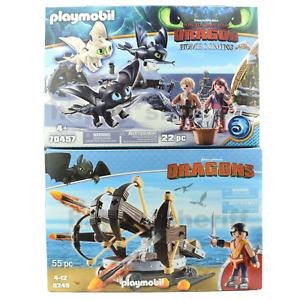 Playmobil 70457 and 9249 How to Train Your Dragon Ballista Baby dragon New Boxed