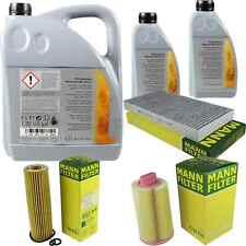Inspektionspaket 7L Mercedes Öl 229.51 5W30 + MANN Filterpaket 11104666
