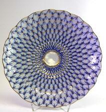 Lomonosov  Kobalt Netz  -  Schale ( Nr 2 )  -  Porzellan russian