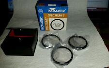 Promaster Spectrum 7 Optical Filter 49mm camera Lens New Case +1 +2 +4 Close Up