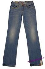 Edc by Esprit Five Jeans NEU W26 Reg. Damen Denim Hose Blau Stretch Gr.32 L32
