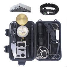 Premium Survival Kit - 15 in 1 - Outdoor-Ausrüstung - Notfall-Sets