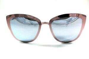 UV027 Purple Mirror Cat Eye Sunglasses Buy 1 get 1 Free