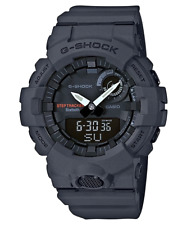 NEW Casio G-shock GBA800-8A Super Illuminator Bluetooth Step Tracker Grey Watch