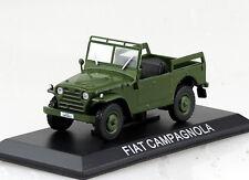Fiat Campagnola dunkelgrün  Blister 1:43 Altaya Modellauto
