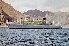 rp12775 - Blue Star Cargo Ship - Argentina Star , built 1947 - photo 6x4