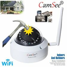 Audio Outdoor Full HD 720P IP Camera Night Vision  Waterproof Wireless WIFI 1Mp