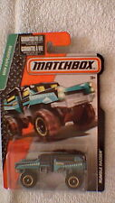 Matchbox (US Card) - 2015 - #88 Rumble Raider - Blue-Green & Black