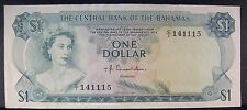 1974 Bahamas, Central Bank of, One Dollar Nice    ** FREE U.S. SHIPPING **
