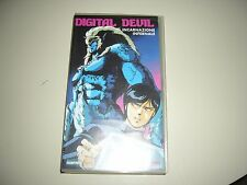 VHS DIGITAL DEVIL ANIME INEDITO DVD YAMATO MANGA  DYNAMIC OAV OVA