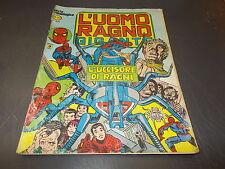 L'UOMO RAGNO GIGANTE 39 SERIE CRONOLOGICA A COLORI CORNO SPIDER-MAN MARVEL 1979!