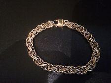 14K Yellow Gold Estate  Fancy Bracelet 7 1/4in BEAUTIFUL
