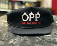Vintage Dead Stock Hat OPP Naughty By Nature 90's SnapBack Rap Hip-hop