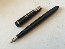 Stylo plume vulpen fountain pen fullhalter penna PARKER SLIMFOLD nib writing 鋼筆