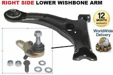 FOR TOYOTA COROLLA 2002-2007 RIGHT SIDE LOWER SUSPENSION WISHBONE + BALL JOINT