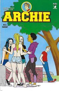 Archie Comic 4 Cover D Variant Jamie Hernandez 2015 Mark Waid Annie Wu