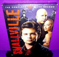 Smallville - The Complete Sixth Season (DVD, 2007, 6-Disc Set) B594