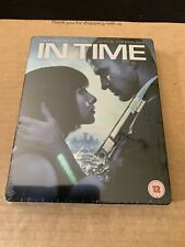 IN TIME * Blu-ray & DVD * STEELBOOK * Justin Timberlake * Sci-Fi * NEW & SEALED
