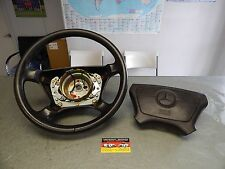 R129 500SL 600SL 300SL SL500 SL600 SL320 LEATHER STEERING WHEEL & AIRBAG BROWN