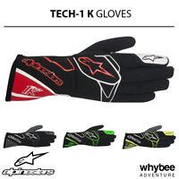 Whybee 3552717 Alpine Stars 2019 TECH-1 K RACE S Childrens Karting Gloves for Cadet Kids