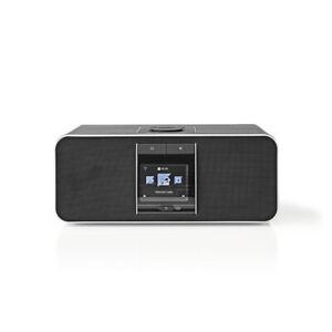Nedis Internet Radio 42W DAB DAB+ FM WIFI Bluetooth USB Charge Black