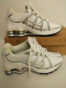 2010 Nike SHOX TURBO SL  Women's Shoes WHITE GRAY   Size US 6.5