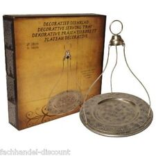 Orientalisches Serviertablett , Metall Tablet ,TEE TRÄGER,Präsenter , Antik Look
