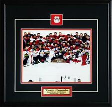 Team Canada 2010 Men's Hockey Gold Medal 8x10 Frame