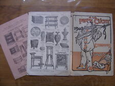 1902 catalogue A LA PLACE CLICHY etrennes jouets meubles orfevrerie parures