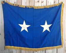 "Vintage United States Air Force Major General Stitched Official Flag, 36"" X 51"""