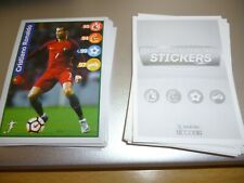 PANINI-KELLOGS FOOTBALL SUPERSTARS 2018....FULL SET of 60 STICKERS