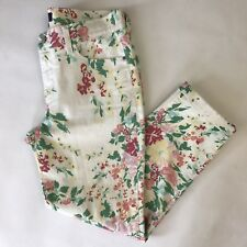 NYDJ Not Your Daughters Jeans Size 2 Slim Ankle Floral Stretch Denim 31x25