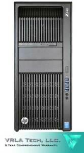 HP Z840 Workstation 96GB RAM 2x E5-2698v3 2x 3TB & 1x 256GB PCIe P4000