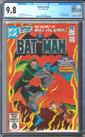 BATMAN #335 (DC 5/81) CGC 9.8 W (CATWOMAN, RA'S AL GHUL, AND TALIA COVER)