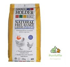 20KG ALLEN & PAGE SMALL HOLDER NATURAL FREE RANGE LAYERS PELLETS CHICKEN POULTRY