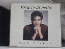 ROSARIO DI BELLA - NON VOLEVO CD SINGLE NEAR MINT
