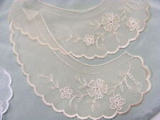 581766 Broderie Anglaise White  Collar