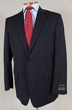 New Jos A Bank Travelers 42L Mens Navy Tailored Fit Blazer Sport Coat Jacket 419