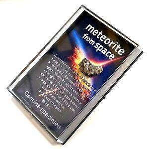 Genuine Meteorite in a Story Box - Campo del Ciel Space Rock - RS6003 ✔UK Seller