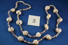 Necklace Cowrie shell 30 inch (3)