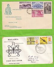 More details for rrr5106 pakistan 13 different first day covers / commemorative  1956 - 1976
