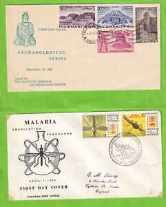 RRR5106 Pakistan 13 different First Day Covers / commemorative  1956 - 1976