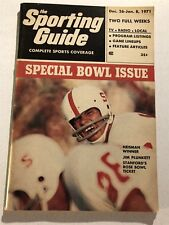 1971 Sporting Guide STANFORD Cardinals JIM PLUNKETT Heisman COLLEGE BOWL ISSUE