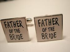 Father of the Bride Vintage Cuff Links groom wedding marriage gift