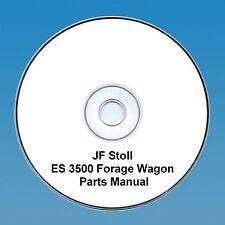 JF STOLL ES 3500 foraggio CARRO-Parti Manuale