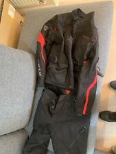 Dainese Textile motorbike suit size Large 54 with zip out thermal