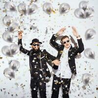 "10 X Balloons Metallic Latex Pearl 12"" Balloon Birthday Wedding Party Decor I5H8"