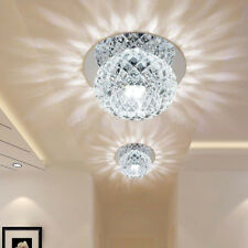 5W Crystal LED Ceiling Light Fixture Pendant Lamp Lighting Chandelier New