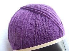 Opal 100g 4-fädig Uni Sockenwolle (3072 Violett)