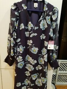CABI Ellery Dress NWT Size small Fall 2020